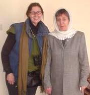 McPhedran with Dr. Samar, Kabul